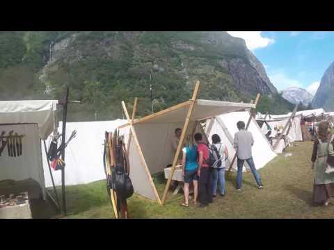 Gudvangen Vikingmarket 2016 Part 1