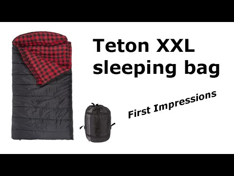 Teton XXL Sleeping Bag