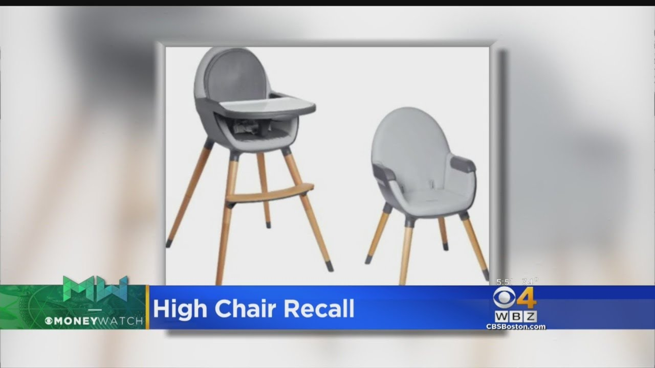 Oxo Tot High Chair Recall Cover Rentals San Diego Recalled Due To Fall Risk Youtube
