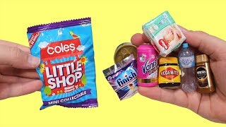 Opening 65 Coles Little Shop Mystery Mini Blind Bags!