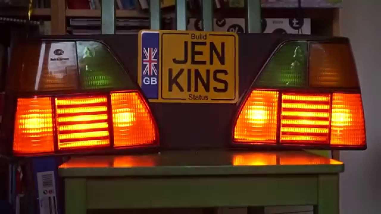 Arduino Jenkins Ci Build Monitor Using Car Lights