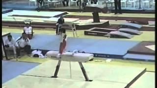 Pommel horse - Gymnast1 (Voronin Cup 2012)