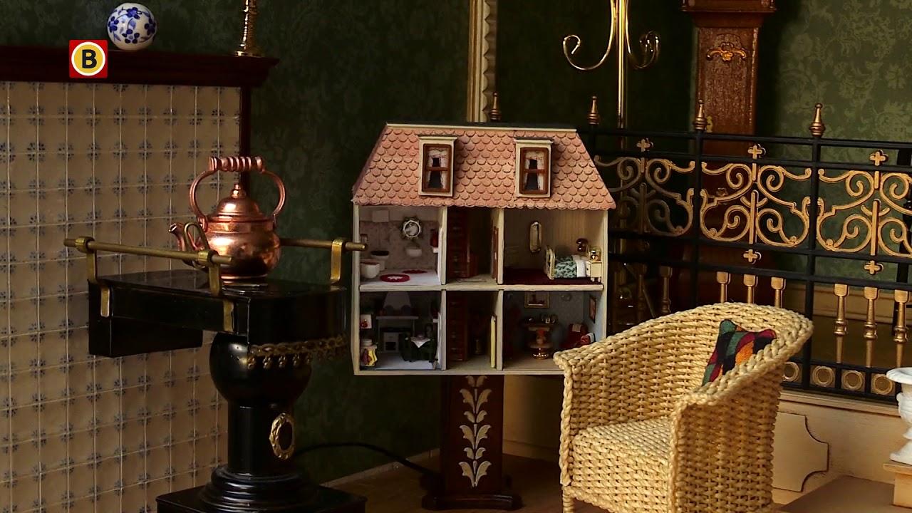 eline maakt meubeltjes voor poppenhuizen over de hele wereld