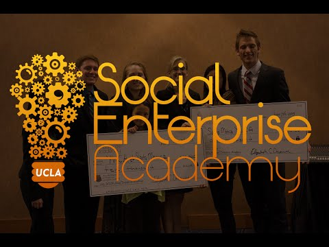 UCLA Social Enterprise  Venture Competition & Showcase