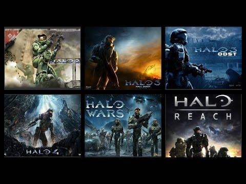 Trailers de la saga de Halo