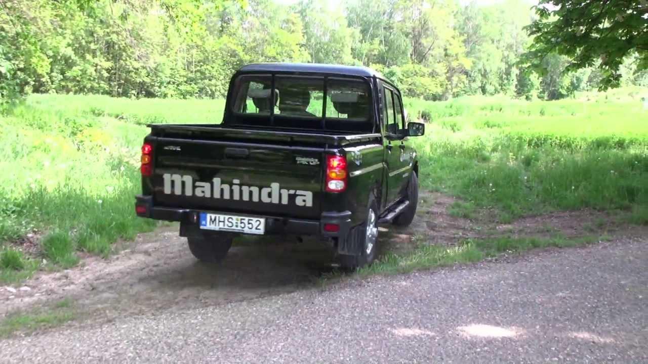 Terepen A 4x4 Es Mahindra Goa Pickup Youtube