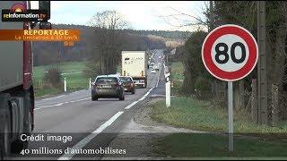 La limitation de vitesse à 80 km/h : un projet nocif pour les Français, la France et son économie thumbnail