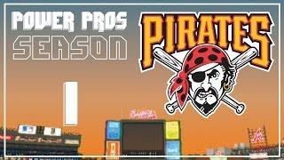 MLB Power Pros 2008 - Pittsburgh Pirates Season Mode - EPISODE 1