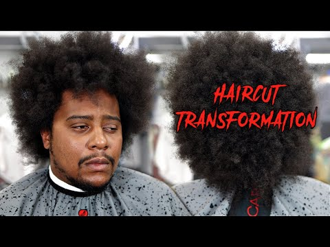 EXTREME TRANSFORMATION MAKEOVER TUTORIAL: BOBBY BROWN HAIRSTYLE   MID FADE   HARD PART