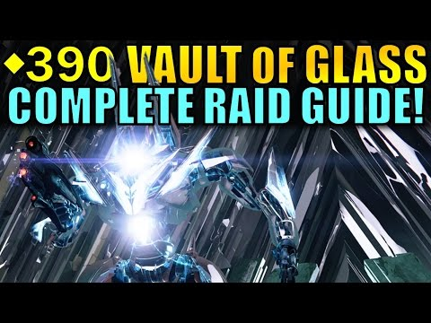 Destiny: Vault of Glass Complete Raid Guide | Every Encounter, Challenge, & Chest! | Age of Triumph