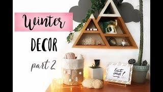 DIY Зимний декор: часть 2 / DIY Winter DECOR part 2