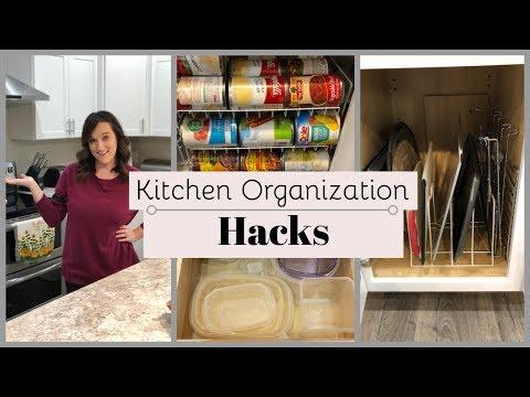 Kitchen Organization | Organizing Hacks