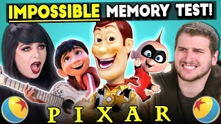 Download The Impossible Pixar Memory Test | Too Much Information Mp3 and Videos