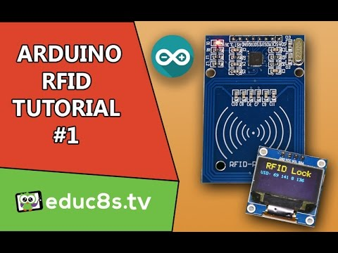 Arduino Tutorial: RFID Tutorial RC522 with an Arduino Uno and an OLED  display from Banggood com