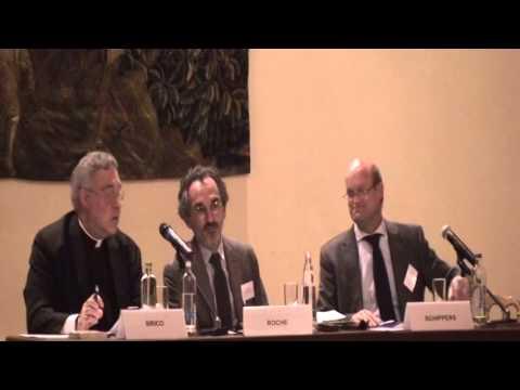 Thrid panel: Free Market - Robert A. Sirico, Bruno Roche, Jan Schippers, Theodore Malloch