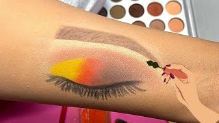 Easy steps to Eye Makeup on hand | Part 2
