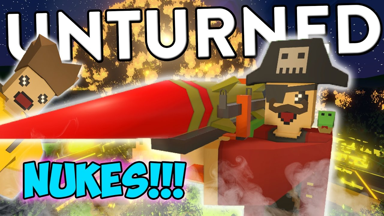Download Unturned Funny Moments with Friends - NUCLEAR PIRATES!!! (Nuke Mod Funtage!)