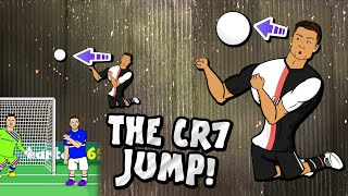 💥The Ronaldo Jump!💥 (CR7 scores incredble header - what a jump!) Parody Juventus vs Sampdoria