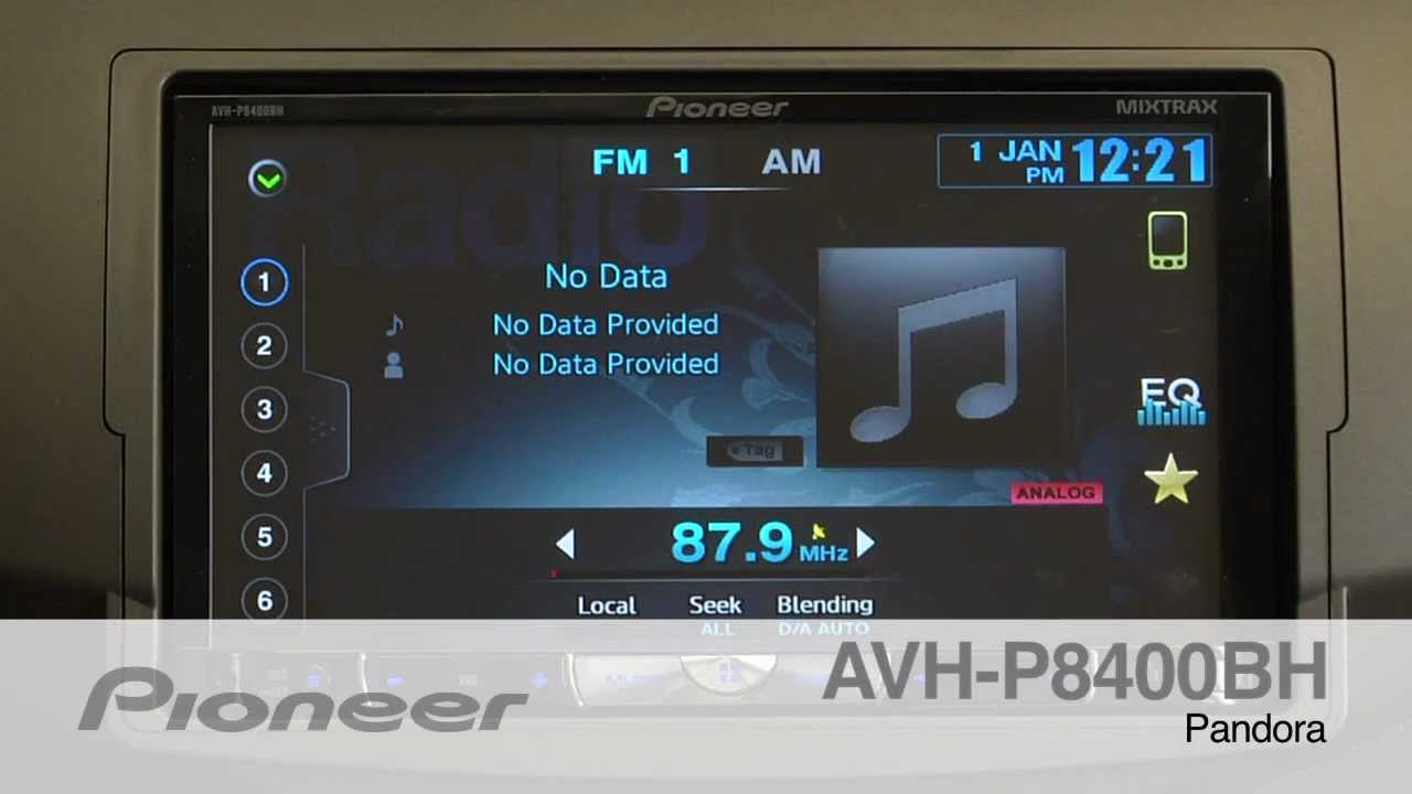 hight resolution of how to avh p8400bh pandora