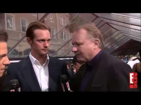 Alexander Skarsgård & Stellan Skarsgård at The Avengers Premiere 2012