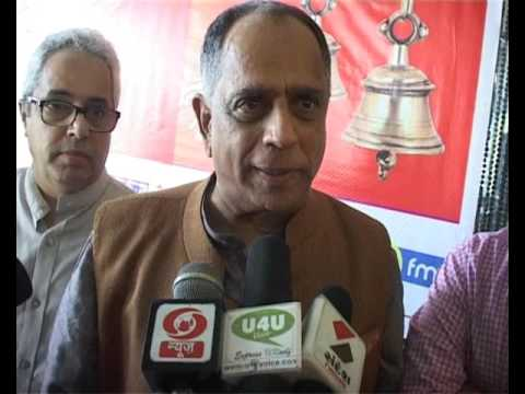 Pahlaj Nihalni,  Chairman Censor Board visited Jammu to participate in Song competition is the