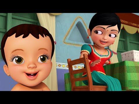 அக்கா தம்பி பாசம்  Tamil Rhymes for Children  Infobells