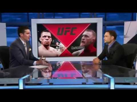 Frankie Edgar Breaks Down UFC 202 - I was disappointed Nate should've pressured more