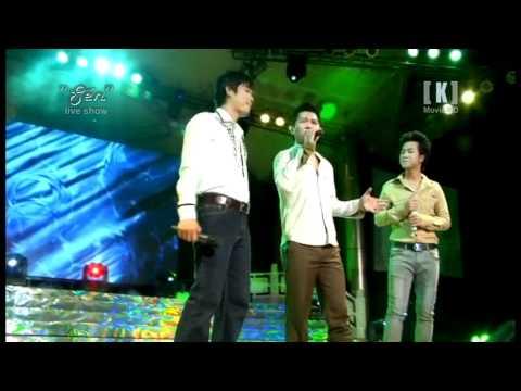 """LiveShow Dao Phi Duong voi ca khuc """"Ba Dua Ban Ngheo"""" feat ca sy Lam Vu and Quach Tuan Du"""