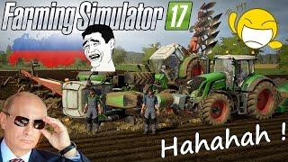 """Farming Simulator 17 """"FENDT W ROSJI"""" #3☆ Bliżniacza orka Funny Russia and fails ㋡ MafiaSolec Team"""