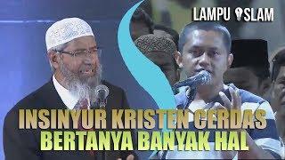 Video INSINYUR KRISTEN CERDAS BERTANYA BANYAK HAL TENTANG ISLAM | DR. ZAKIR NAIK download MP3, 3GP, MP4, WEBM, AVI, FLV Januari 2018