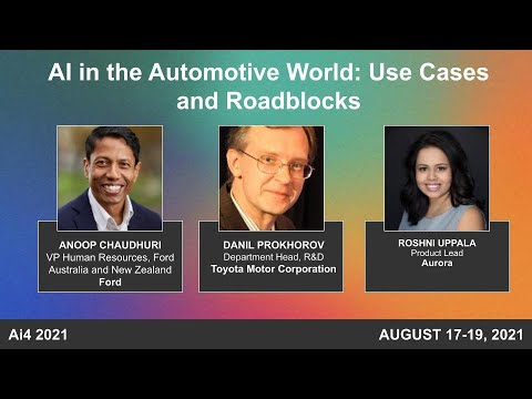 Panel: AI in the Automotive World: Use Cases and Roadblocks