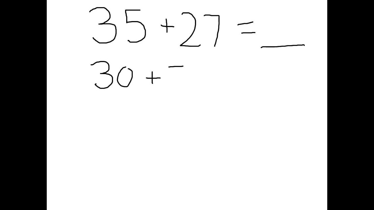 Adding Double Digit Numbers Using Place Value Expanded Notation