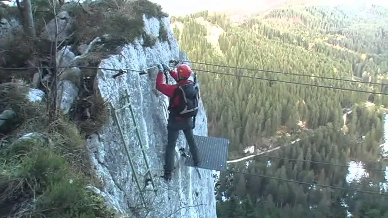 Klettersteig Johann Topo : Predigtstuhl klettersteig mein land dein 10 2010 youtube