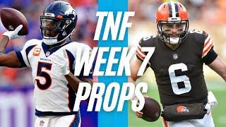 BRONCOS vs BROWNS Picks   Thursday Night Football Player Props NFL 2021   TNF Week 7 Picks   LINEUPS screenshot 5