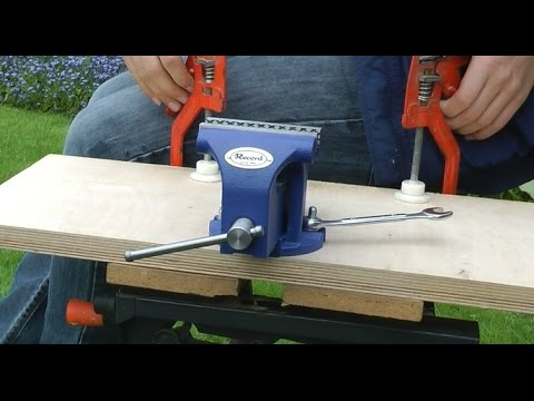 How to make your bench vice portable