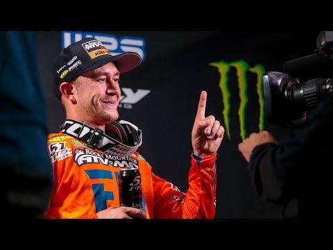 Racer X Films: Blake Baggett On His 2019 Glendale Supercross Win
