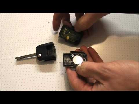 Volkswagen Remote Key FOB Battery Change