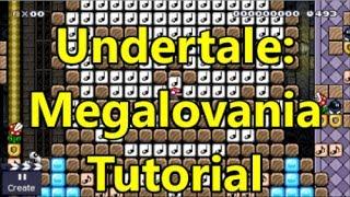 Music In Minutes: Undertale MEGALOVANIA Tutorial - Super Mario Maker