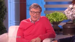 Bill Gates Chats wİth Ellen for the First Time and things get awkward