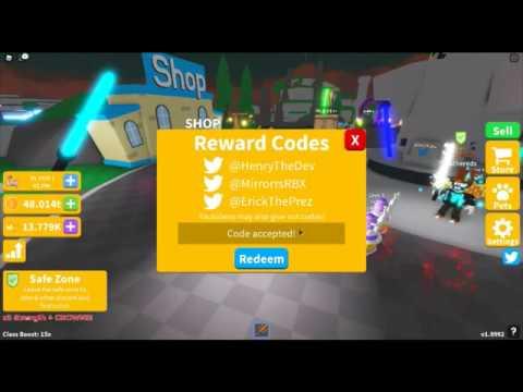 roblox sabre simulator codes