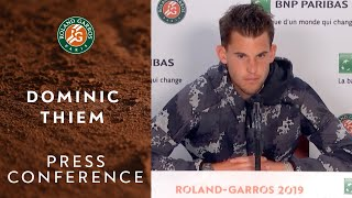 Dominic Thiem - Press Conference after Semi-Finals | Roland-Garros 2019