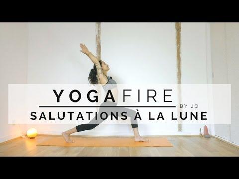 Salutations à la Lune - Yoga Fire By Jo