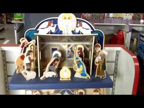 Wood Nativity From Melissa And Doug Youtube