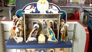 Wood Nativity From Melissa And Doug