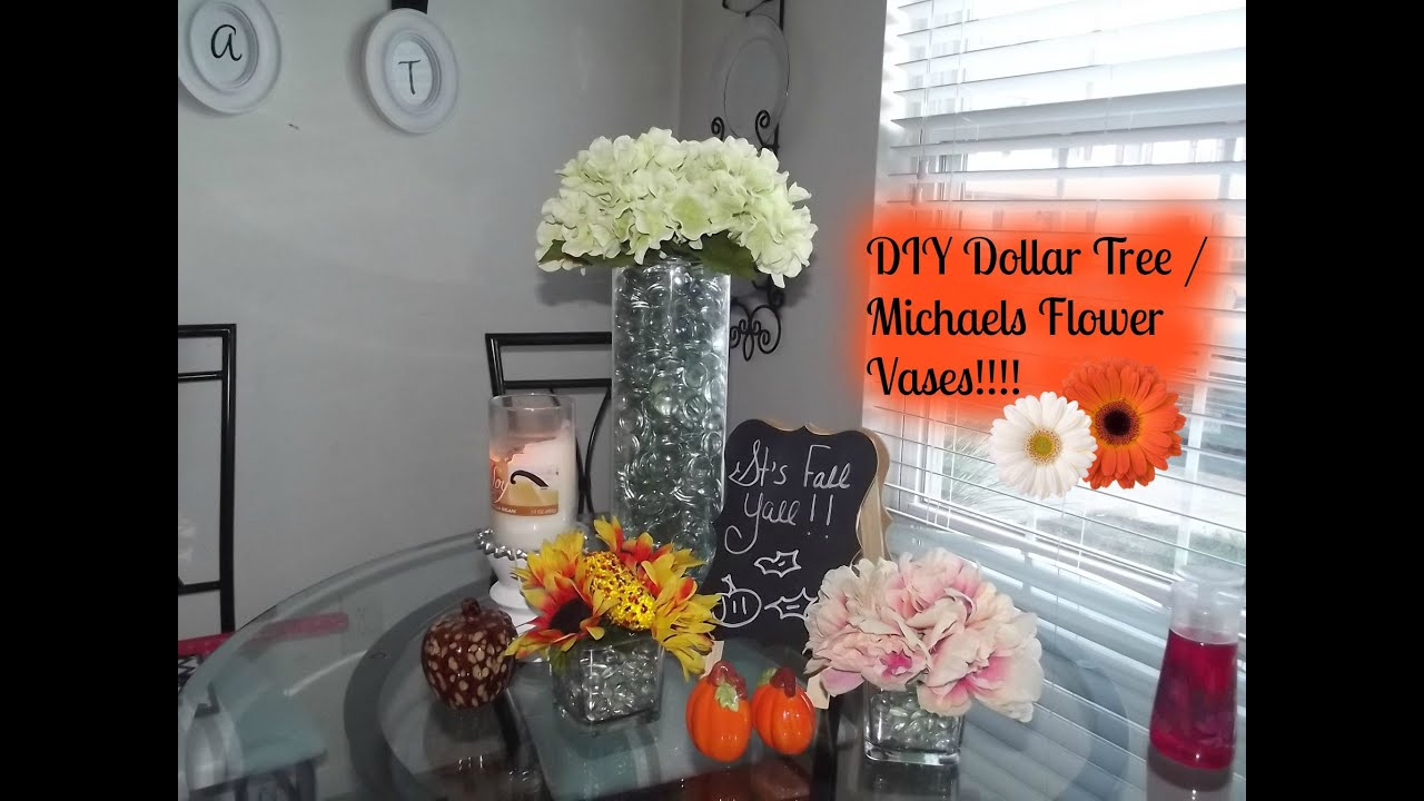 Diy dollar tree michaels centerpieces youtube mightylinksfo