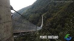 Wandern Ponte Tibetano - Bellinzona / Tessin