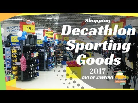 Decathlon the largest sporting goods in the world in Rio de Janeiro #44