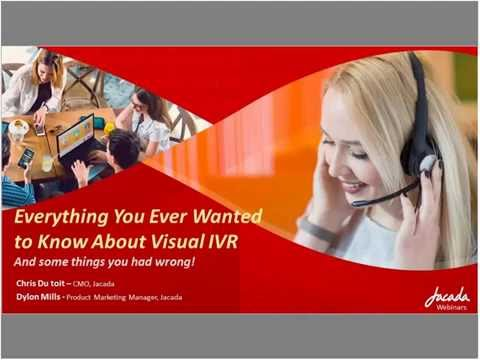 Webinar Visual IVR Q&A   Everything You Ever Wanted to Know About Visual IVR