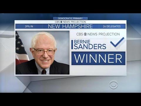 Bernie Sanders takes huge win in New Hampshire
