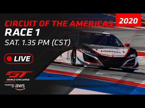 RACE 1 - GT WORLD CHALLENGE - COTA 2020